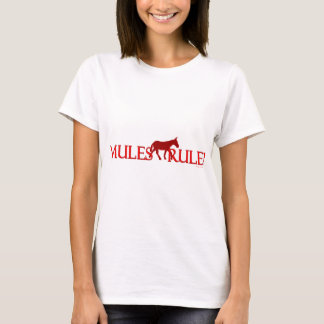 Mules Rule! Silhouette T-Shirt