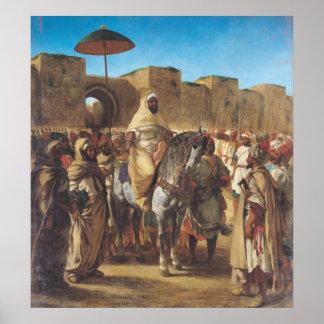 Muley Abd-AR-Rhaman, el sultán de Marruecos Impresiones