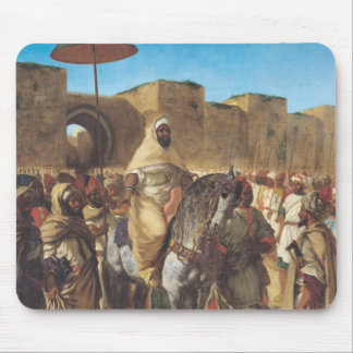 Muley Abd-ar-Rhaman , The Sultan of Morocco Mouse Pad