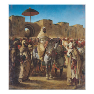 Muley Abd-ar-Rhaman , The Sultan of Morocco Poster