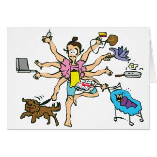 mulher.pdf greeting card
