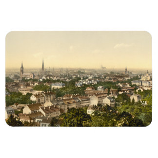 Mulhouse from the South, Alsace, France Flexible Magnets