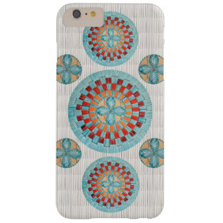 Mulit Turquoise Flower Design Barely There iPhone 6 Plus Case