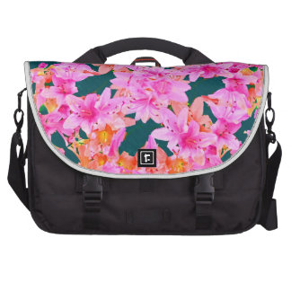 Mulitcolored Floral Pattern Bag For Laptop