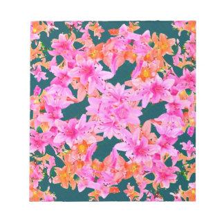Mulitcolored Floral Pattern Scratch Pads
