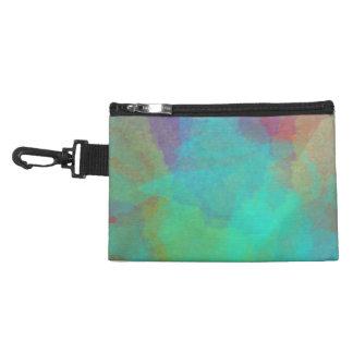 Mulitcolored Watercolor Painting Artwork Accessories Bags
