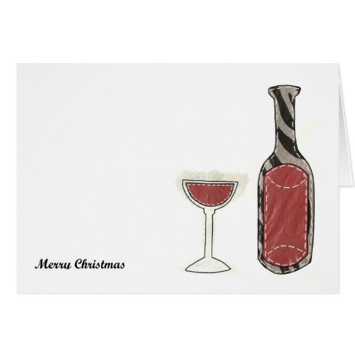 Mulled and Rose Wine Card