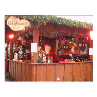 Mulled Wine Booth in Hamburg Post Cards