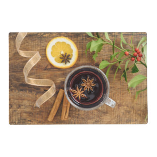 Mulled wine placemat