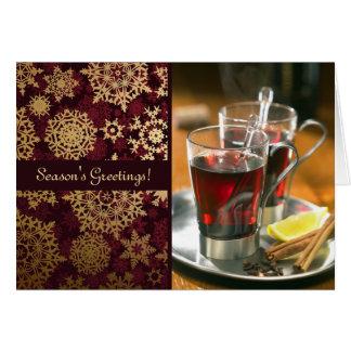 Mulled Wine Season's Greetings Card