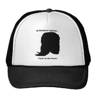 MULLET All Business Upfront Trucker Hat