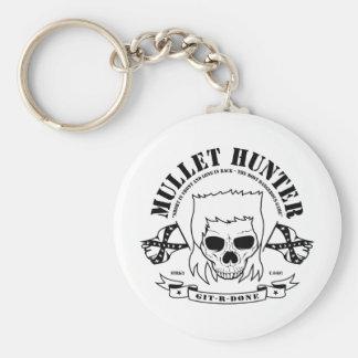 Mullet Hunter Keychain