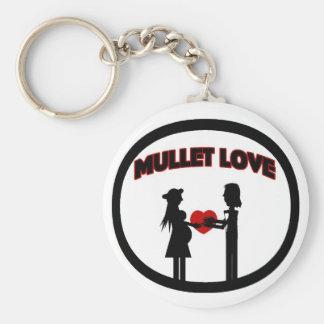Mullet Love Keychain