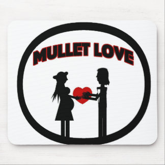 Mullet Love Mouse Pad