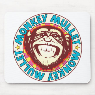 Mullet Monkey Mouse Pad