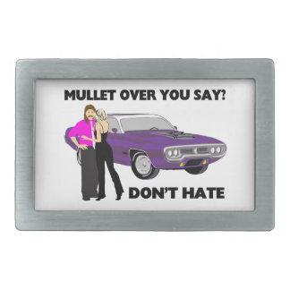 Mullet Over Think Again Belt Buckle