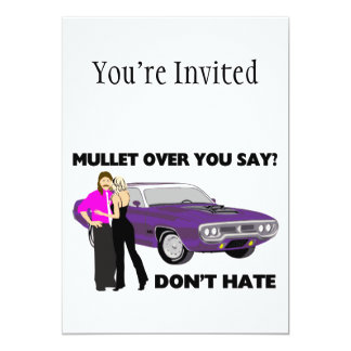 Mullet Over Think Again Card