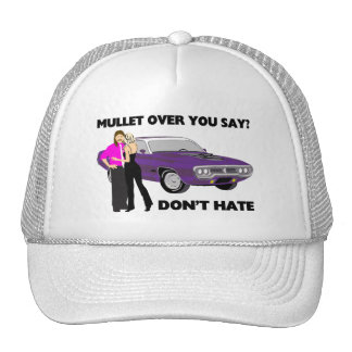 Mullet Over Think Again Trucker Hat