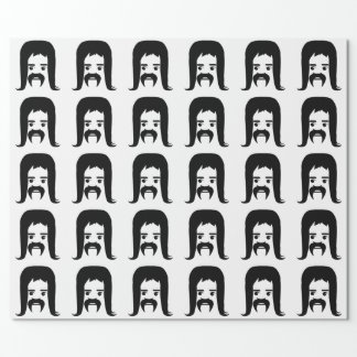Mullet Party Wrapping Paper