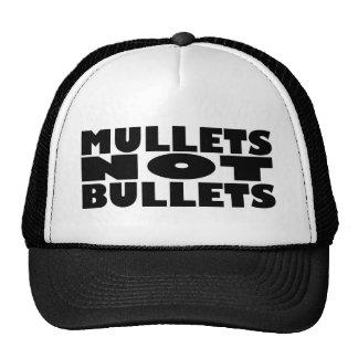 Mullets not bullets trucker hat