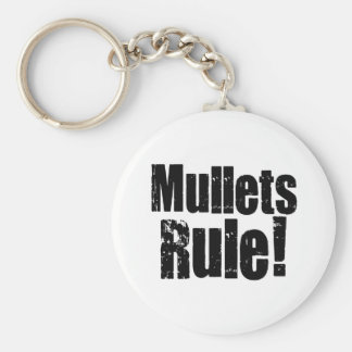 Mullets Rule Keychain
