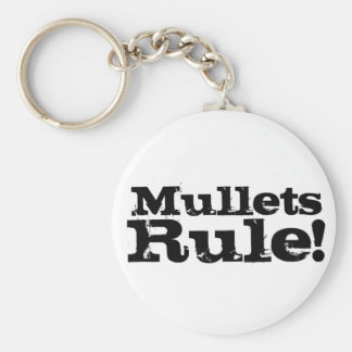 Mullets Rule Key Chain