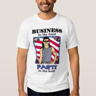 MULLETS Shirt: Front & Back Shirt