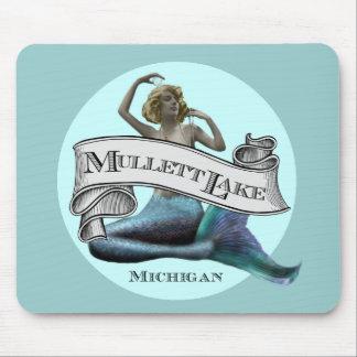 Mullett Lake Mermaid Mouse Pad
