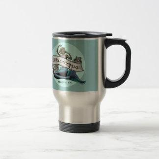 Mullett Lake Mermaid Travel Mug