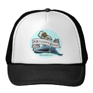 Mullett Lake Mermaid Trucker Hat