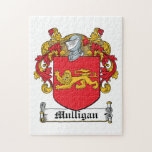 Mulligan Family Crest Jigsaw Puzzles