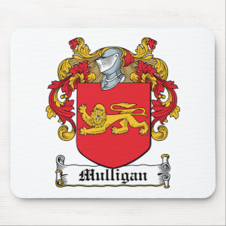Mulligan Family Crest Mouse Pad