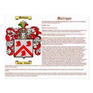 mulligan (significado) tarjetas postales