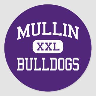 Mullin - Bulldogs - High School - Mullin Texas Sticker