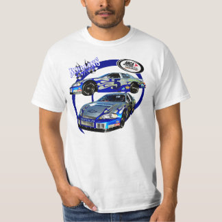Mullins Racing Blue Swirl T Shirt