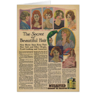 Mulsified Cocoanut Oil Shampoo 8 actresses Card