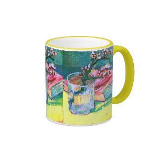 Multa de cristal floreciente de Van Gogh del libro Taza De Dos Colores