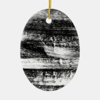 Multa del papel del drenaje del diseño del adorno ovalado de cerámica