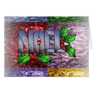 multi Background mat, Noel Card