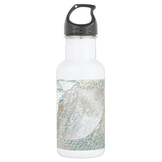 Multi Beautiful Pearlized electronics home busines 18oz Water Bottle