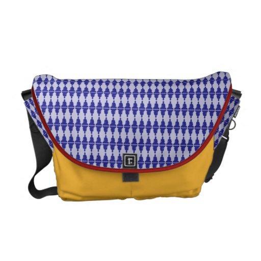 Multi-Buddha Courier Bag