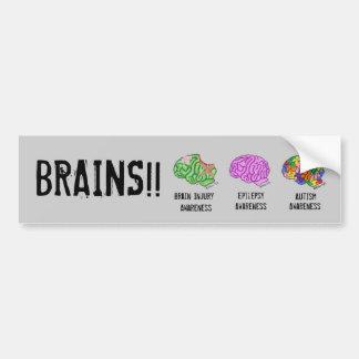 Multi-Cerebro Pegatina Para Auto