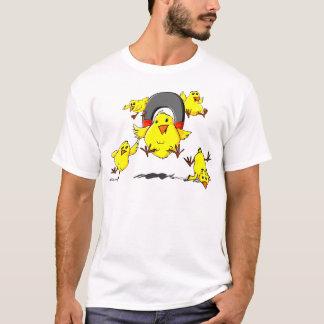 Multi_Chick_magnet_Lt T-Shirt