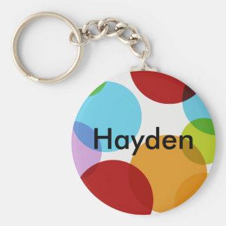 Multi Circle Custom Keychain