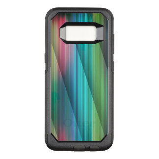 Multi Color Abstract (1) OtterBox Commuter Samsung Galaxy S8 Case