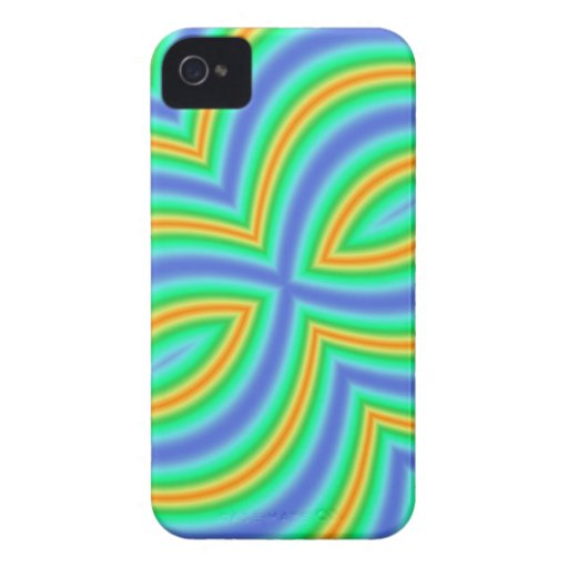 Multi Color Abstract Pattern Blackberry Bold Case