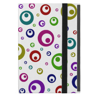 Multi-Color Abstract Polka Dots iPad Mini Case