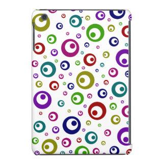 Multi-Color Abstract Polka Dots iPad Mini Retina Cases