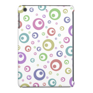 Multi-Color Abstract Polka Dots (Light) iPad Mini Retina Case