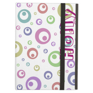 Multi-Color Abstract Polka Dots (Light) Case For iPad Air